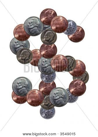 Coins Dollar Sign
