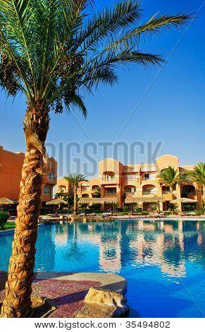 African Resort, Swimming Pool.