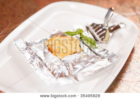 fish in the foil