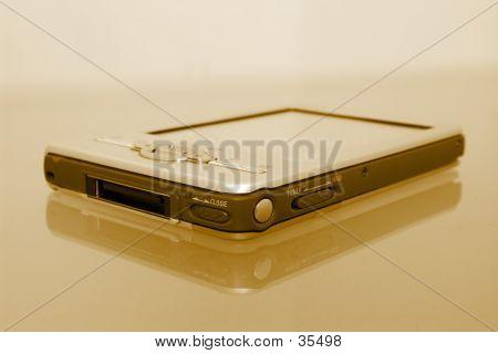 Palmtop Organizer PDA In Sepia