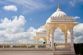 image of baps  - Tower at Hindu temple - JPG