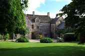 stock photo of manor  - England traditional manor house in Cerne Abbas Dorset English countryside - JPG