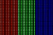 Red Green Blue Macro Pixels