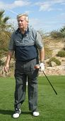 PALM SPRINGS - FEB 7: Ron Masak at the 15th Frank Sinatra Celebrity Invitational Golf Tournament at