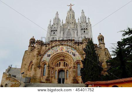 Tibidabo Catedral Barcelona