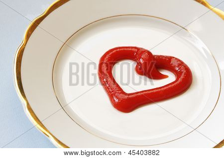 Tomato Paste As Heart