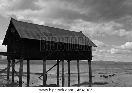 Shack On Jetty
