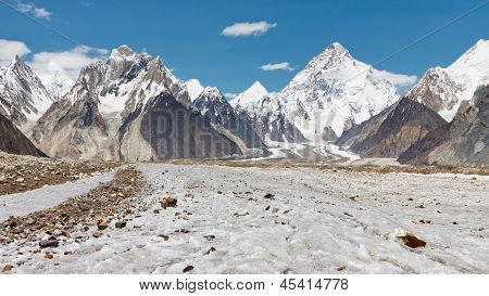 K2 And Baltoro Glacier, Pakistan