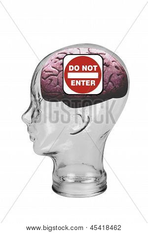 Do not enter this brain.