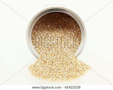 Steel Cut Oatmeal In Container