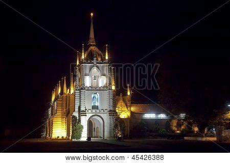 Mae De Dues Church Goa Landscape