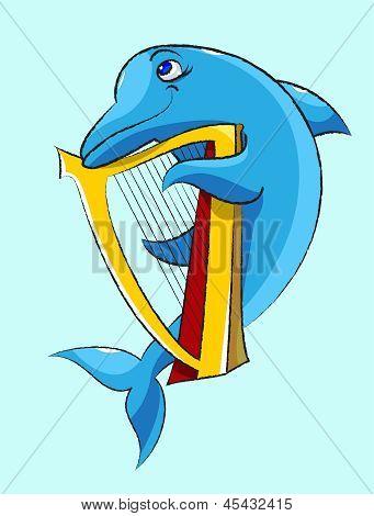 Dolphin - Harpist