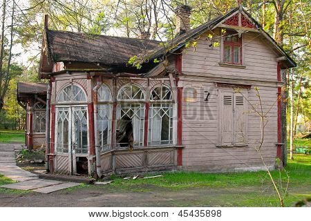 Old Abandoned Collapsed House