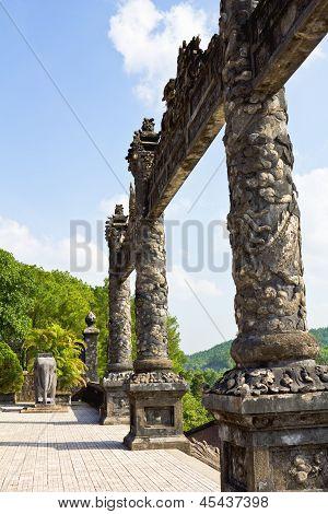 Thien Mu Pagoda inHue Vietnam