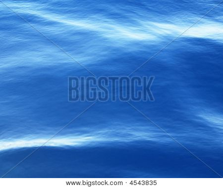 Water Surface Cool Blue