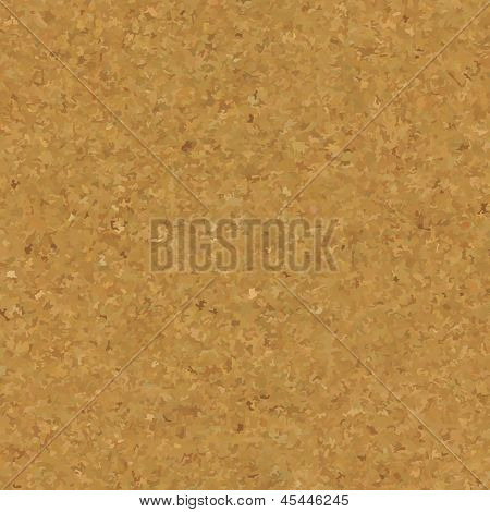 Cork Board Texture, Vector Illustration