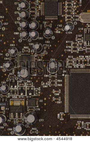 Detail Of Pc Sound Card 3