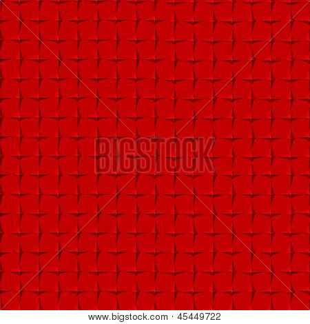 Red Diamond Plate Background