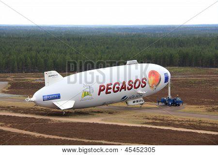 Pegasos Zeppelin Nt In Jamijarvi, Finland