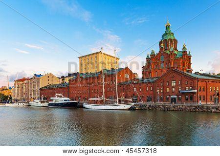Altstadt in Helsinki, Finnland