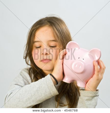 Girl Piggy Bank