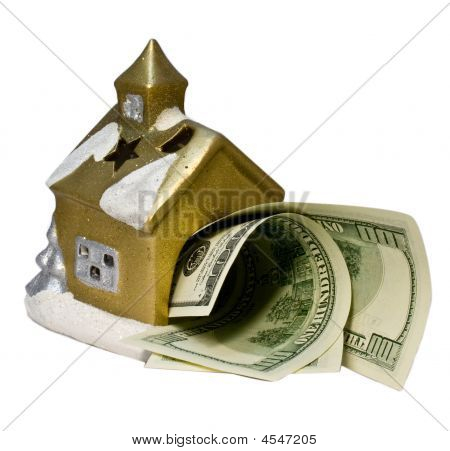 The Small House With Dollars