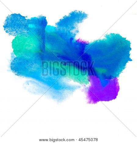 color purple spot blue light macro blotch texture isolated white