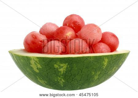 Bowl Of Watermelon
