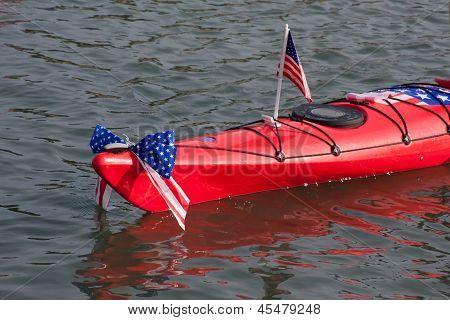 Kayak On The Ocean