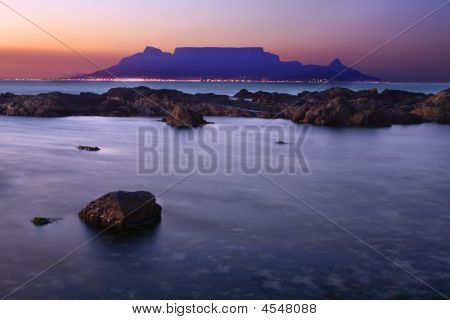 Cape Town As Seen From Blouberg