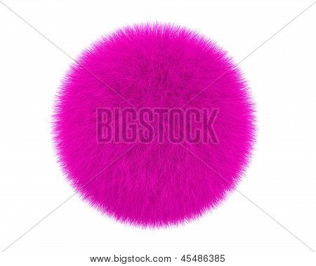 Pink Fur Ball