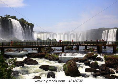 Iguassu Falls - Large Waterfalls