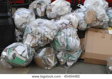 Resíduos de lixo