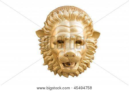 Statue Lion Head