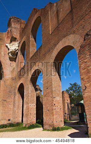Basilika des Maxentius und Konstantin In das Forum Romanum, Rom, Italien
