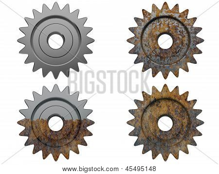 Gear The Engine Various Degrees