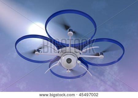 Police Surveillance Drone