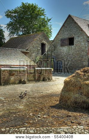 Traditional English Farmyard