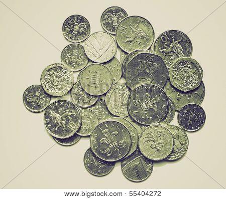 Vintage Sepia Pounds Picture