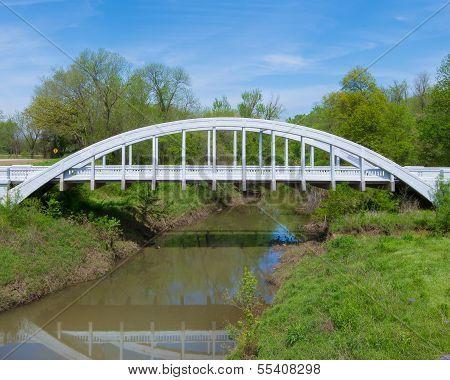 Route 66: Rainbow Arch Bridge, Riverton, KS