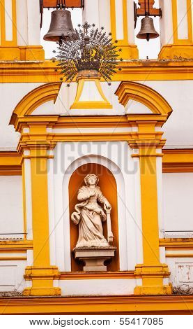 Basilica De La Macarena Catholic Church Seville Spain