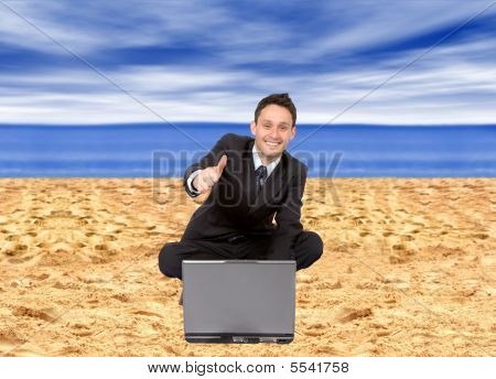 Online At The Beach