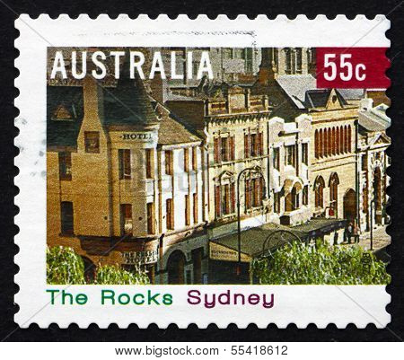 Postage Stamp Australia 2008 The Rocks, Sydney