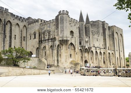 Cathedral Notre-dame Des Doms In Avignon, France