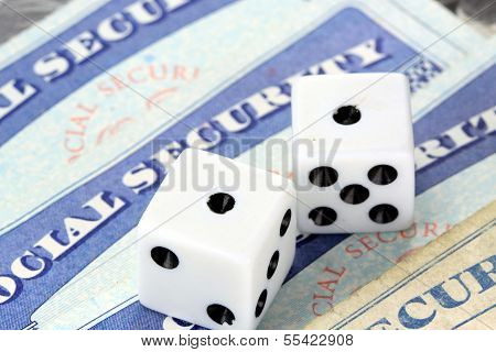 Gambling on social security benefits and retirement income