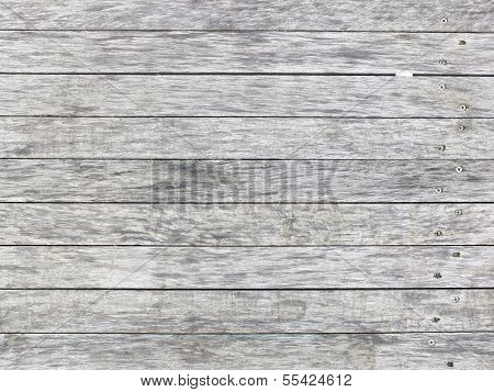 Gray Planks Background