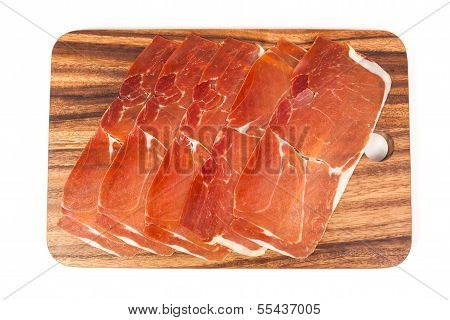 Jerked Meat And Dry-cured Ham From Spain