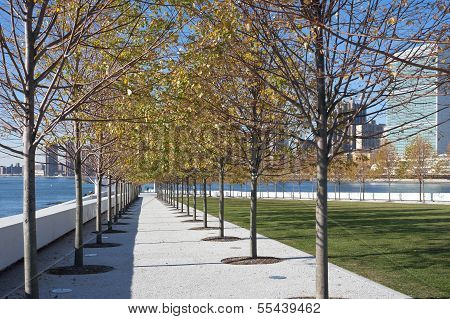 Roosevelt Four Freedoms park, New York City