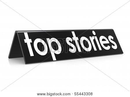 Top stories in black