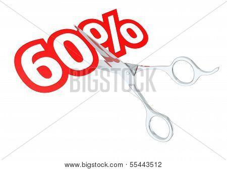 Cut 60 percent